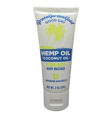 75mg Hemp OIL - Coconut OIL - BODY Massage Cream