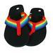 Gay Pride FLIP FLOPS Sandals by the Dozen