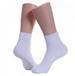 Men's Sports Ankle SOCKS White Heel & Toe Sale by Dozen