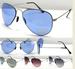 FASHION SUNGLASSES Metal Aviators 13001A