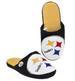 Raised Logo Slide SLIPPERS NFL Pittsburgh Steelers