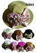 Ladies STRAW HAT with Flower NA56841