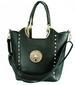 Women HANDBAG Hand Bag SH901 Dark Green