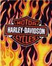 HARLEY DAVIDSON - Fleece Throw Blankets. Bar & Shield - 50'' x 60''