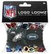 Logo Loomz RUBBER BANDS, Clips & Charms - NFL Philadelphia Eagles
