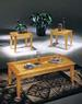 Furniture, 3 Pcs Table Set: 1 COFFEE Table, 2 End Tables