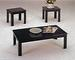 Furniture, 3 pcs Table 2168BK:1 COFFEE Table,2 End Tables