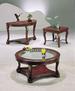 Furniture,3 Pcs Table Set:1 COFFEE & 1 End & 1 Sofa Table