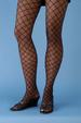 Holiday Halloween  DIAMOND Fishnet Tights - Black