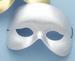 HOLIDAY Seasonal Halloween Silver Cocktail- Mask