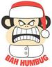 Apparel T-shirts HOLIDAYs Christmas Day Printed:''Bah Humbug''