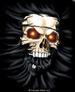 Apparel T-shirts HOLIDAYs Halloween Printed:''Skull Press''