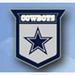 Team Crest Logo Pin - NFL DALLAS COWBOYS