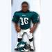 Brian Westbrook Gladiator ACTION FIGURE - NFL Philadelphia Eagles