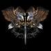 Apparel T-shirts Liquid Blue Designs: ''Eagle SWORD''
