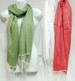Wholesale 50% viscose 50% cotton solid color scarves SCARF white