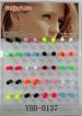 Wholesale Neon color Fake Ear Plug/ Hip Hop JEWELRY