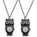 Owl WATCH Pendant Necklace
