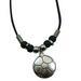 Metal SOCCER Ball Pendant Necklace