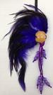 Purple Hawaiian Warrior HELMET. Size: M