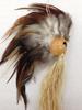 Natural Hawaiian Warrior HELMET. Size: M
