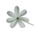 White Tiare Flower Hair Stick