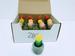 Decorative CANDLEs Unscented w/ Mini Ceramics Pot