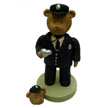 Kneeded Bears® - Policeman with Matching PIN