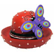 RED HAT Figure with Butterfly
