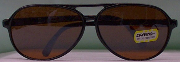 6178 Copper Flash MIRROR Driving Sunglasses - 2nds  $2.00