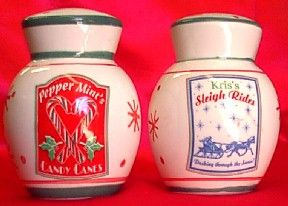 Vintage CHRISTMAS S & P Shakers -  20% Off