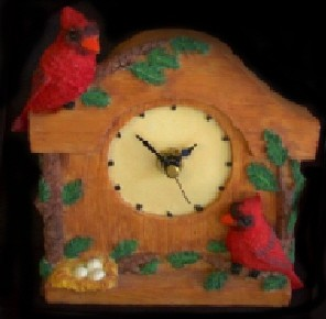 Cardinal CLOCK   $5.88  (SAVE 25%)