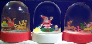 CHRISTMAS Water Globe Assortment