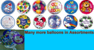 18'' Birthday, Get Well and Anniversary (Foil) Mylar BALLOONs
