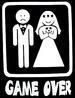 Humor T Shirt  - English ........  GAME Over
