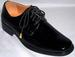 Mens Classic Tuxedo SHOES In Patent Leather - Black (A Run)