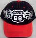 ROUTE 66 Embroidered  Cap .....