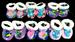 NEW Born Size Baby  Booties  In Assorted Prints