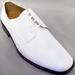 Big Mens Tuxedo SHOES - Classic  Style -White - C Run