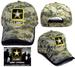 Embroidered LICENSED Camouflage Military Caps - US Army