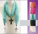 Christian Scarves For Women With Cross PENDANTs