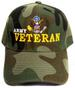 Embroidered Camo Military Baseball CAPs - US ARMY Veteran