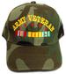 Embroidered Camouflage Military CAPs - US ARMY Veteran