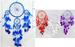 Native Pride Dream Catcher -  5 Rings With WIND CHIMES (23409)