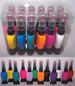 COSMETICS - 2 In 1 Nail Lacquer Art Pen & Brush - 12 Colors