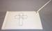 Christening/Communion White Embroidered 2Pc Guest BOOKs
