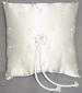 Ring Beared PILLOW With Pearls - White Color  ( # RP-1498-WT)