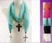 Fashion Christian Scarves For Women - With Cross PENDANTs