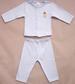 NEW Born Sizes 2Pc Embroidered Pyjama Sets