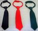 Boys Adjustable Neckties In Solid Colors  (Size: 8-14)